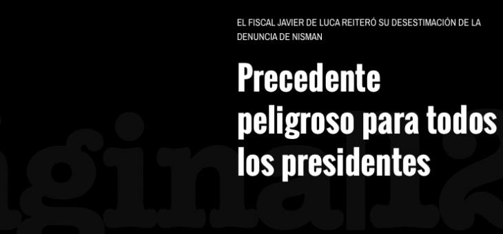 Precedentes para presidentes