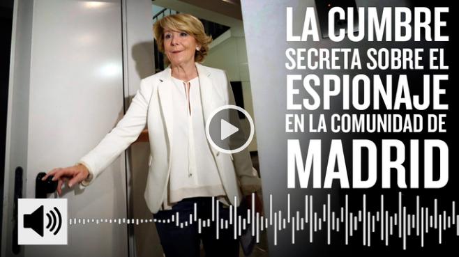 Escuchas del PP Esperanza Aguirre