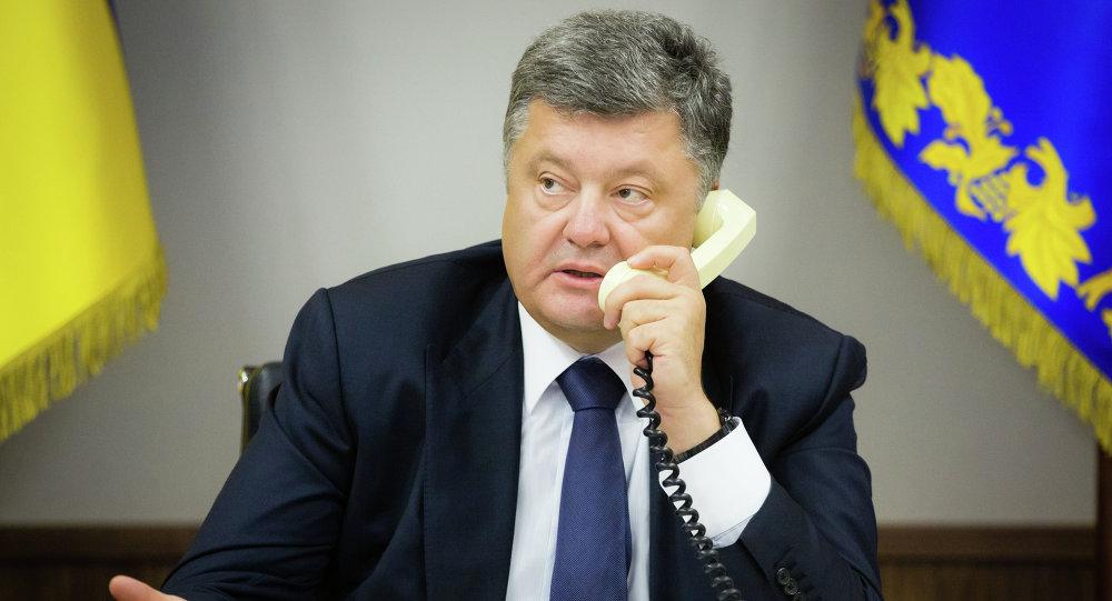 bromas con grabaciones Poroshenko