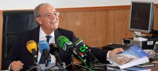El Fiscal jefe de Canarias, Vicente Garrido. Noticia de Transcripción chapucera.