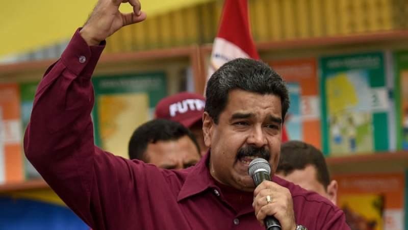 Nicolás Maduro. Narcotráfico en Venezuela.